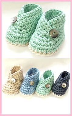 Crochet Kimono Baby Shoes Pattern - WHOot Best Crochet and Knitting Patterns . - Crochet Kimono Baby Shoes Pattern – WHOot Best Crochet and Knitting Patterns - Crochet Baby Boots, Booties Crochet, Crochet Baby Clothes, Crochet Shoes, Crochet Slippers, Newborn Crochet, Baby Slippers, Knitted Baby, Crochet Baby Bootie Pattern