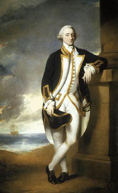 Portrait of Captain Hugh Palliser (1723-1796). George Dance the Younger