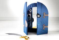 Spiegel für Kinder wie PYSSLINGAR Spiegel in Blau
