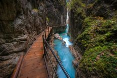 Dream Place of the Day: Leutaschklamm, Duitsland - [GEO] - Tours,Trips,Home Decoration,Hairstyle Vacations To Go, Dream Vacations, Yosemite National Park, National Parks, Road Trip, Nature View, Germany Travel, Natural Wonders, Wonders Of The World