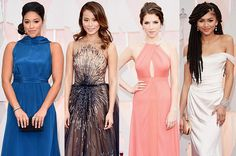 Colorful Red Carpet Fashion from the Oscars. Who are your faves?