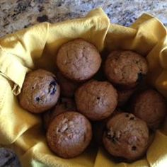 Whole Wheat Blueberry Muffins Allrecipes.com