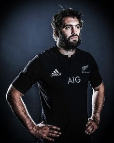The All Blacks show off their new new look jerseys in this series of portraits taken by Getty photographer Hannah Peters.