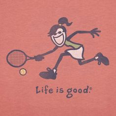 life is good. Finally, feeling better & got back to playing tennis today after two months off. Tennis Party, Play Tennis, Tennis Today, Tennis Posters, Tennis Funny, Game Of Love, Tennis Shirts, Tee Shirts, Tennis Workout