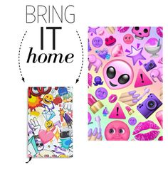 """Bring It Home: Emoji Journal"" by polyvore-editorial ❤ liked on Polyvore featuring interior, interiors, interior design, home, home decor, interior decorating, Twelve NYC and bringithome"