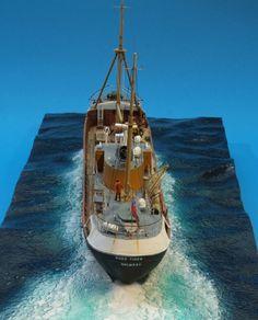 North Sea Fishing Trawler
