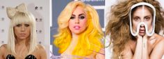 Celebrity-Hairstyles-Lady-GaGa When it comes to celebrity hairstyles who like to change up their hair often we have a wide variety to choose from as in Hollywood it is just another PR stunt.