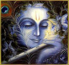 Beautiful Lord Vaikunthanatha Painting