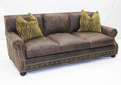 Old Hickory Tannery Sofa Western Sofas and Loveseats