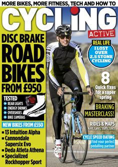 Get your digital subscription/issue of Cycling Active-March 2015 Magazine on Magzter and enjoy reading the Magazine on iPad, iPhone, Android devices and the web. Cycling News, Cycling Bikes, Cycling Weekly, Time Inc, Master Class, Real Life, Baseball Cards, Reading, Digital