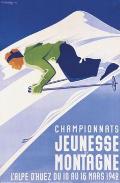 Championnat ski jeunesse et montagne Alpe d'huez