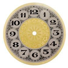 Znalezione obrazy dla zapytania clock face printable