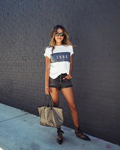 """Shop Sincerely Jules (@shop_sincerelyjules) on Instagram: """"Beautiful LA day rockin' our 1986 Tee! Shop it on sale for a limited time! ☀️❤️ 