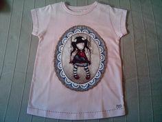 Camiseta muñeca Gorjuss