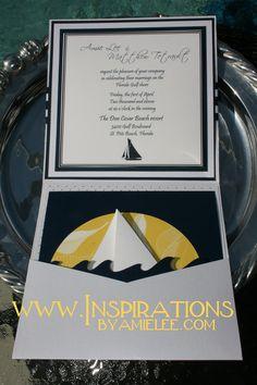 Nautical Wedding Invitation - Nice!