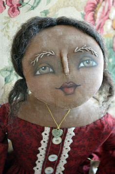 Margaret Mary Folk poupée après Noël vente par anniebeez sur Etsy, $57.00