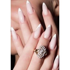 45+ Fearless Stiletto Nails via Polyvore featuring beauty products, nail care, nail treatments and nails