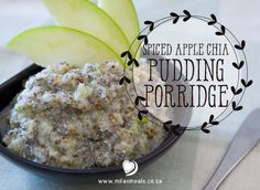 A recipe for a quick-and-easy but nutrient dense breakfast that tastes like pudding - Spiced Apple Chia Breakfast Pudding (Porridge). Gluten-free, sugar-free and dairy free of course! Gluten Free Recipes, Diet Recipes, Chia Pudding Breakfast, Amy Myers, Porridge Recipes, 10 December, Spiced Apples, Christmas Recipes, Meal Ideas