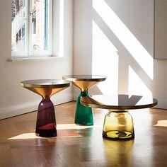 Bell table, designed by Herkner Sebastian for ClassiCon