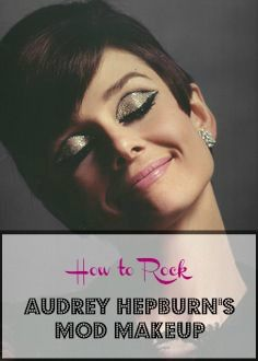 Audrey was a style icon well into the '60s. Don't believe me? Come check out Audrey Hepburn's makeup from that era…