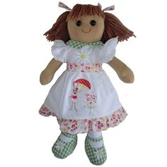 Personalised rag doll, CE marked and suitable from Birth, lovely gift http://www.bramble-rose.co.uk/ourshop/cat_696807-Personalised-Rag-Dolls.html