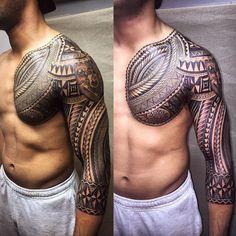 Tattoos, tribal tattoos for men or tattoos for women, always seek out top t Dad Tattoos, Best Sleeve Tattoos, Celtic Tattoos, Future Tattoos, Life Tattoos, Body Art Tattoos, Tattoos For Guys, Cloud Tattoos, Polynesian Tattoo Designs