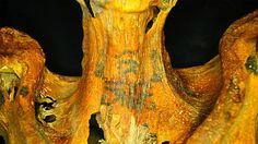 Hallan elaborados tatuajes en una momia egipcia
