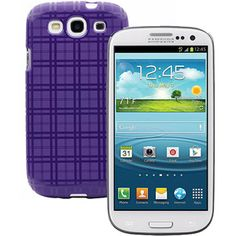 Straight Talk Samsung Galaxy S3, White w/ Bonus Straight Talk Case Value Bundle