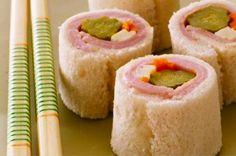 sándwiches de sushi