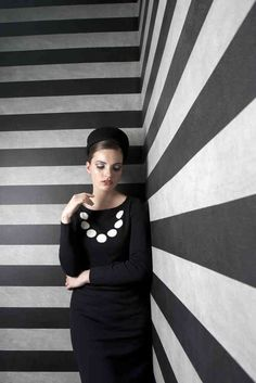 Jackie - kokerjurk -  Little Black Dress by Michael Bannaart van Bergen