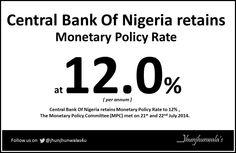 #MonetaryPolicyCommittee (MPC) of #CentralBankofNigeria retains #MonetaryPolicyRate at 12%, #MPR  For more Informative post click :  https://www.linkedin.com/company/jhunjhunwalas