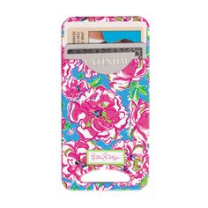 SO cute (and on sale with code GLITZ) - iPhone case with card holder - great for student