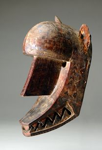 Bamana culture                 (Mali)            Hyena Mask19th                -                20th century