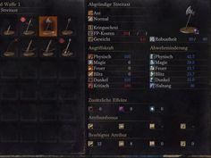 """Die """"Abgründige Streitaxt"""" findet ihr in Dark Souls 3 ebenfalls zu Beginn des Spiels. Sie ist sogar verzaubert und verursacht Dunkelschaden."""