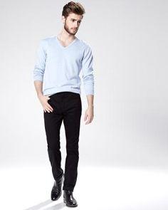 Pantalon Essentiel 5 poches coupe ajustée - Entrejambe de 32 pouces