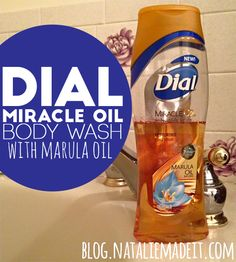 Dial Miracle Oil Body Wash