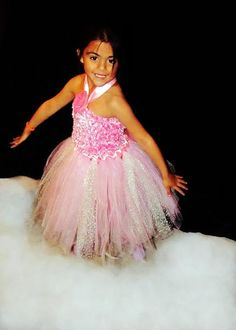 Beautiful Baby's Breath Sparkle Tutu Skirt