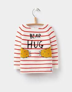 Love this sweatshirt for my baby bear!   Barney Bear Hug Intarsia Jumper | Joules UK