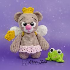 "Bella The Little Teddy Bear ""Little Explorer Series"" Amigurumi Pattern"