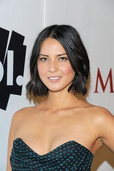 olivia munn hair | actress olivia munn poses with aol at the maxim party powered by ...