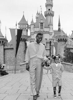 nat king cole visits disneyland c.1963