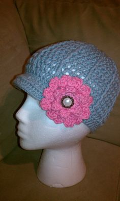 9d840f08f37 an elegant ladies hat that i also make in a toddler size Fun Hobbies