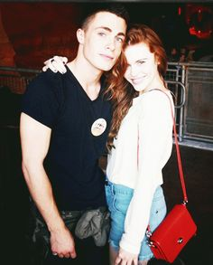 Colton Haynes & Holland Roden.