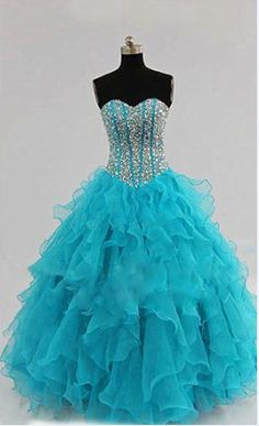 Ball Gown Sweetheart Prom Dress,Long Prom Dresses,Cheap Prom Dresses,Evening Dress Prom Gowns, Custom Made…