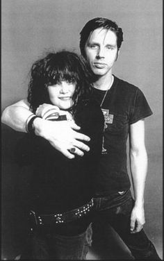"Exene Cervenka + John Doe = X!  An ex-boyfriend turned me onto this phenomenal band, back in the day. Their music still amazes... like  ""Hungry Wolf""... http://www.youtube.com/watch?v=VLzQ-v0C8CA"