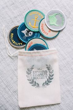Mother's Day gifts under $25: Honor society merit badges | perfectly smitten