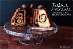Babka kawowa z polewą krówkową - I Love Bake Nutella, Delicious Desserts, Food To Make, French Toast, Pudding, Easter, Sweets, Sugar, Cookies