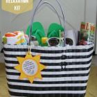 Summer Fun Tote for Teachers, Mothers Day or a Summer Birthday