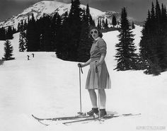 Vintage snow skiing pictures | Posted on June 30, 2013 by AlpineStyle56