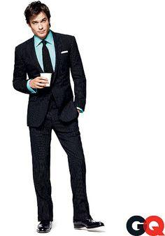 Suit Porn: Ian Somerhalder!